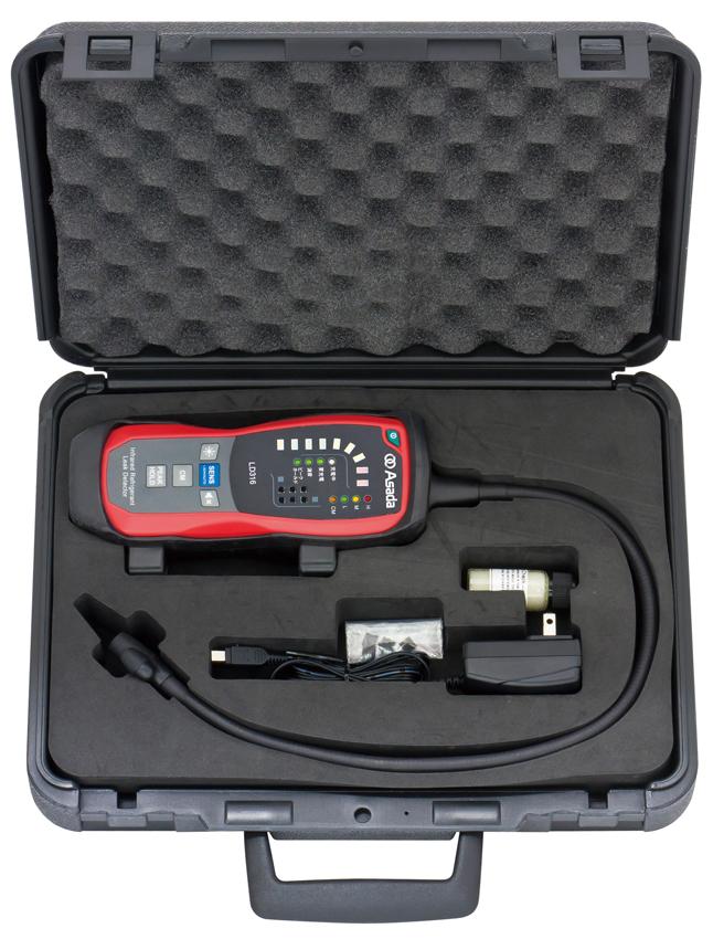 Dụng cụ kiểm tra rò rỉ khí LD316E