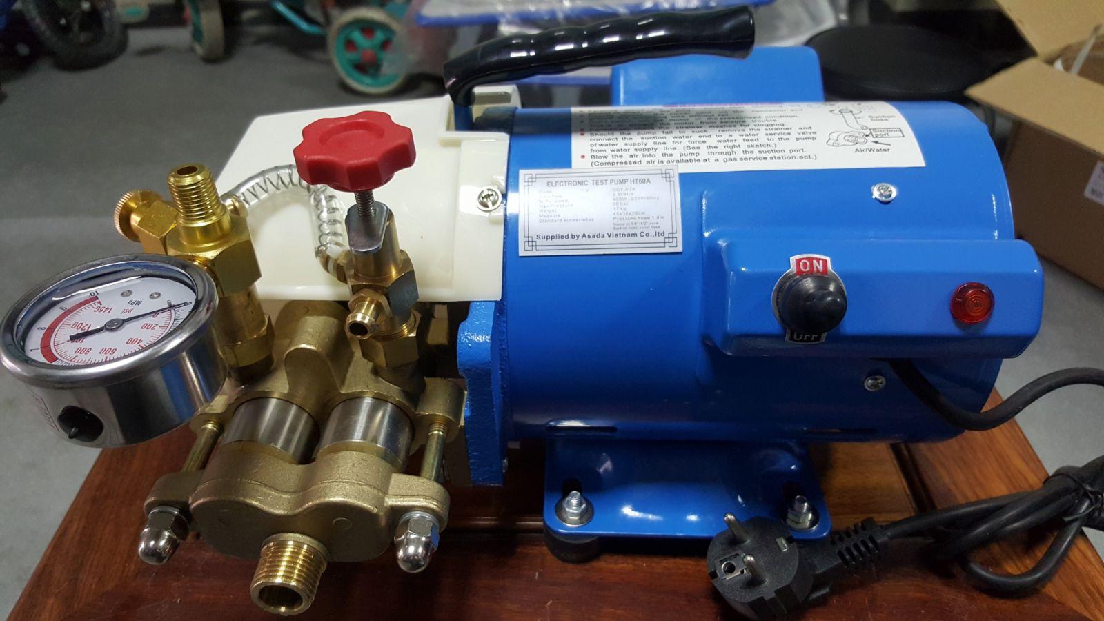 Thiết bị kiểm tra áp lực đường ống bằng điện HT60A