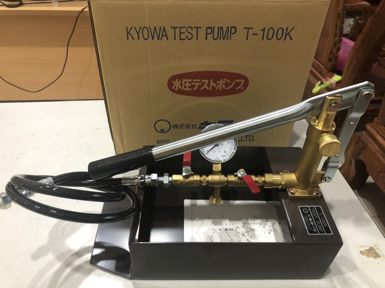 Bơm Thử Áp Kyowa T-100K